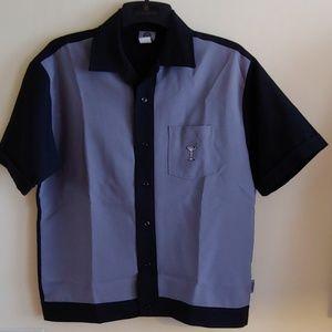 BNWOT VENUE Martini Bowling Shirt